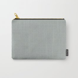 PPG Glidden Trending Colors of 2019 Night Watch PPG1145-7 Polka Dots on Delicate White PPG1001-1 Carry-All Pouch