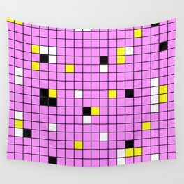 Mingling - Abstract, conceptual, minimalistic, geometric artwork Wall Tapestry