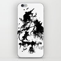 cello iPhone & iPod Skins featuring Cello by Julia Gingras