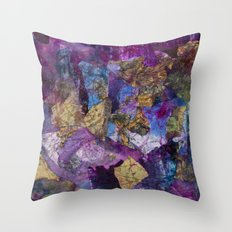 Drizzle Painting  Throw Pillow