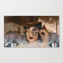 Rebels of Steelwrath Canvas Print