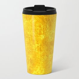 Freesia Oil Painting Color Accent Travel Mug
