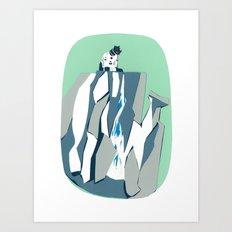 Thunder Falls Art Print