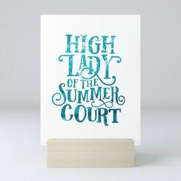 High Lady Summer Court ACOTAR Mini Art Print