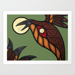 Solstice In The New World Art Print