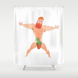Uncensored Shower Curtain