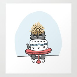 Time for Cake! Art Print