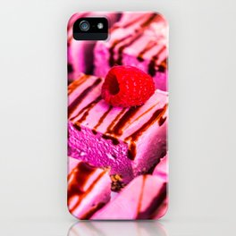 Berry very pink iPhone Case