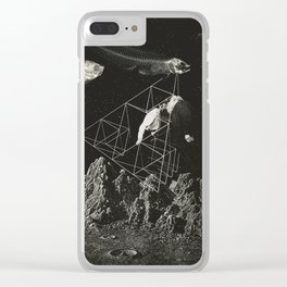 Starvation Clear iPhone Case