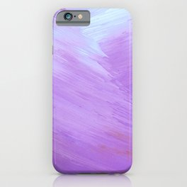Beautiful Lavender Painting iPhone Case