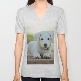 Poppy | Chiot Unisex V-Neck