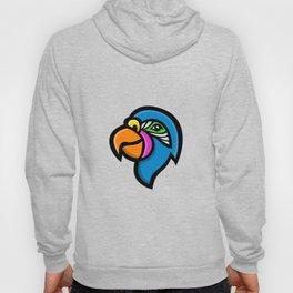 Parrot Head Mascot Hoody