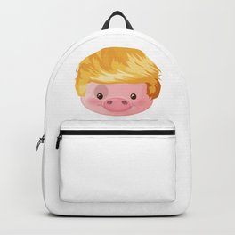 Kawaii Trump Pig - Chinese Zodiac Year of Pig 2019 Backpack