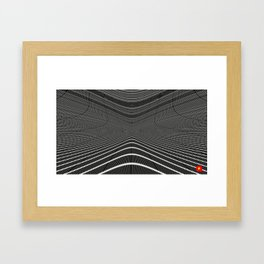 Qpop - Continuum 1 Framed Art Print