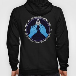 Me & Paranormal You - James Roper Design - Ouija (white lettering) Hoody