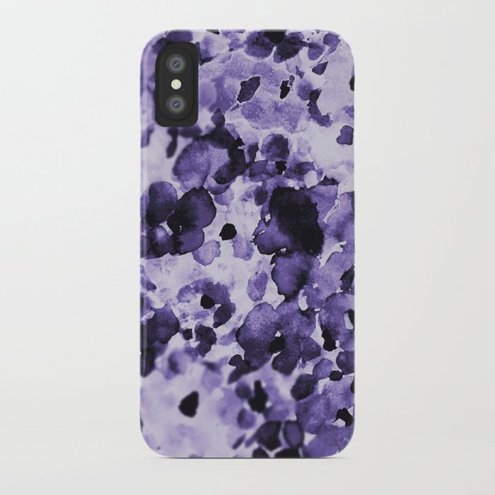 Delft Blue Floral iPhone Case