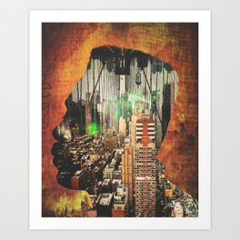 "Big Daddy Kane ""Urban Thought"" Art Print"