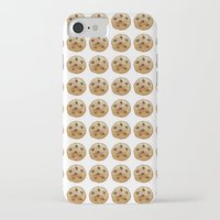 emoji iPhone & iPod Cases featuring COOKIE EMOJI by FaniS