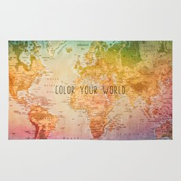 Color your World Rug