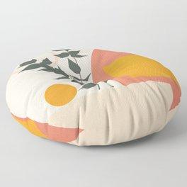Geometric Modern Art 42 Floor Pillow