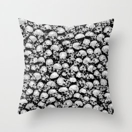 Totally Gothic II Throw Pillow