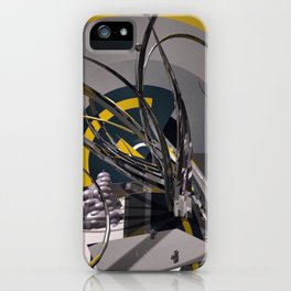 gladiatorial gladioli iPhone Case