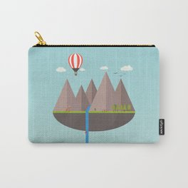 Flat island  Carry-All Pouch
