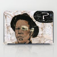 tom selleck iPad Cases featuring Tom Waits? by Andy Christofi