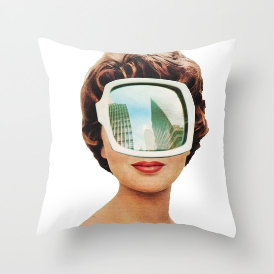 Vylsa Scikona Throw Pillow