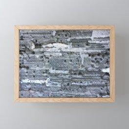 Fort wall St. Augustine Framed Mini Art Print