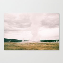 The Legendary Old Faithful  Canvas Print