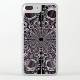 ENGRENAGES Clear iPhone Case