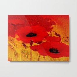 FLOWERS - Mellow yellow Metal Print