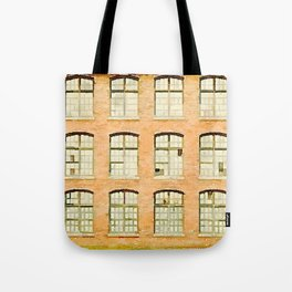 Factory, Maine Tote Bag