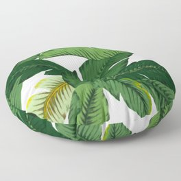 banana leaves Floor Pillow
