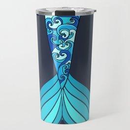 mermaid tail *ocean* Travel Mug