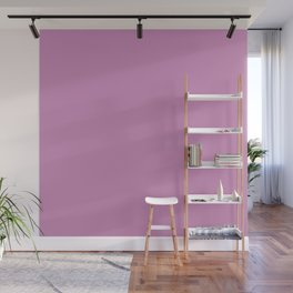 Violet Purple Solid Color Wall Mural
