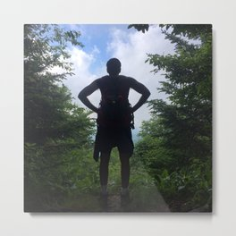 Man with a Vision Metal Print
