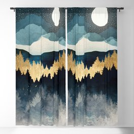 Indigo Night Blackout Curtain