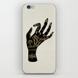 Palmistry iPhone Skin