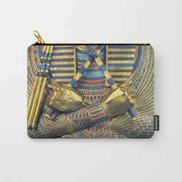 King Pharaoh Tutankhamun T-Shirt Egypt Tut Egyptian Gift Tee Halloween Costume Carry-All Pouch