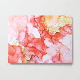 Coral Echoes Metal Print