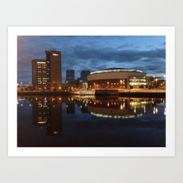 Belfast Waterfront Art Print
