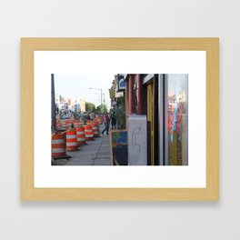 DC 009 Framed Art Print