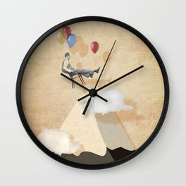 Dream Flight Wall Clock