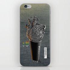 CRZN Dynamic Microphone iPhone & iPod Skin