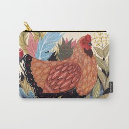 Spring Chicken Carry-All Pouch