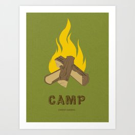 Childish Gambino - Camp Art Print