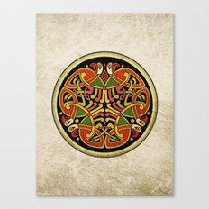 Celtic Animal Symbol Canvas Print