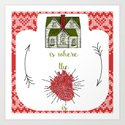 Home is where the heart is :-) by rouagesdesign